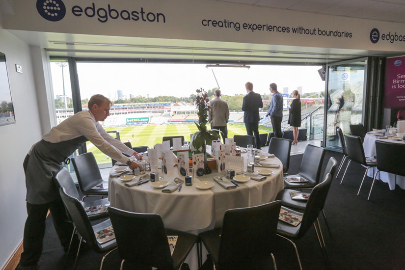 Cricket - Edgbaston - ODI 2021 - England v Pakistan - Executive Boxes
