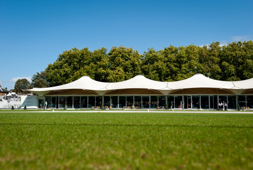 Cricket - Lords - Test Match 2021 - England v India - Nursery Pavilion