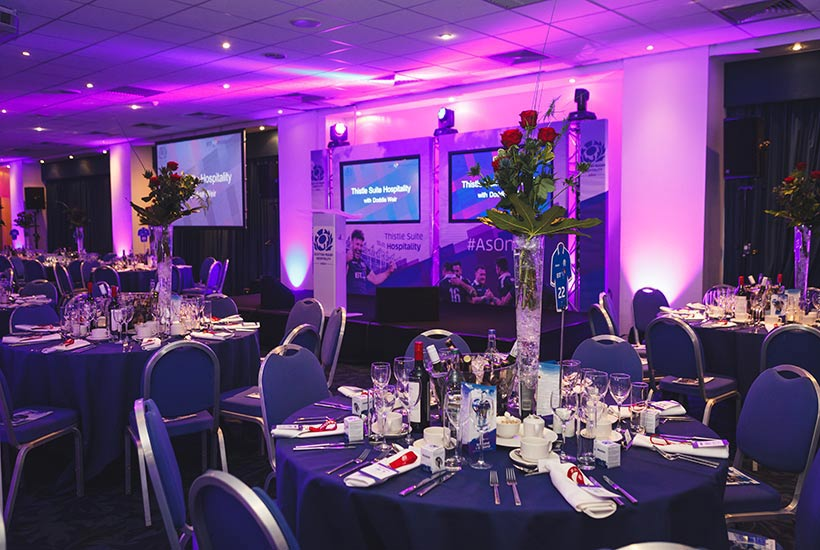 Rugby - Guinness 6 Nations 2021 - BT Murrayfield - Thistle Suite