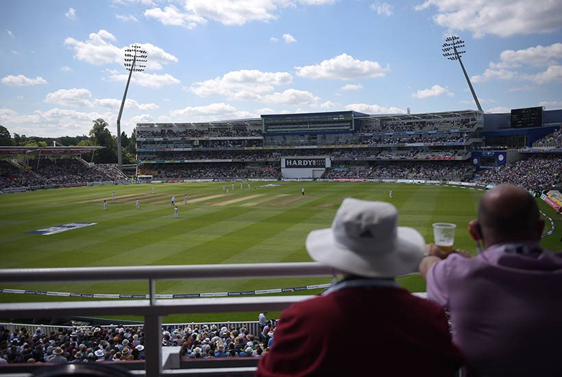 Cricket - Edgbaston - ODI 2021 - England v Pakistan - Res Wyatt Boxes