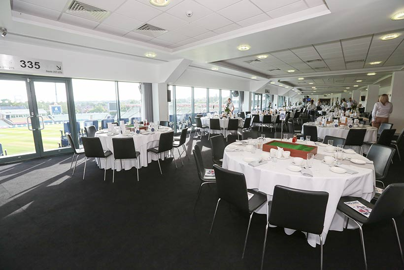 Cricket - Edgbaston - Test Match - England v West Indies - Warwickshire Suite