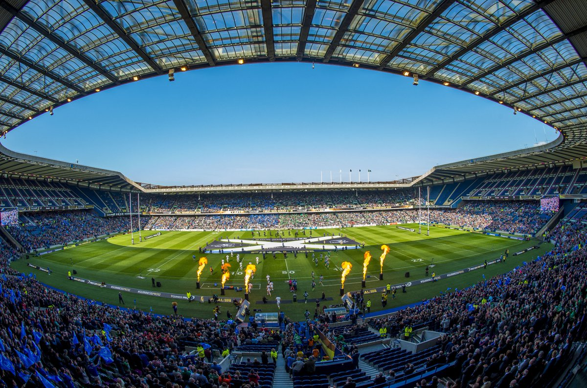 Rugby - Autumn Internationals 2020 - BT Murrayfield - Boxes
