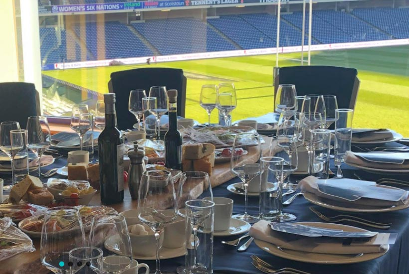 Rugby - Guinness 6 Nations 2021 - BT Murrayfield - Murrayfield Boxes