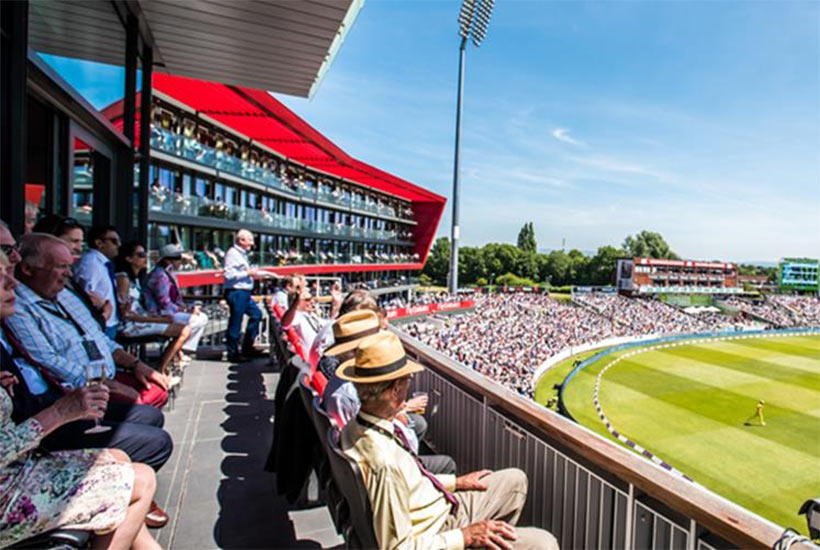 CSM - Cricket - Emirates Old Trafford - Test Match - The Boardroom