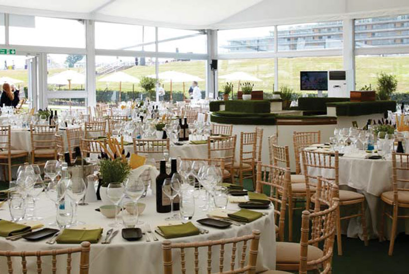 Horse racing - Royal Ascot 2021 - Village Restaurant