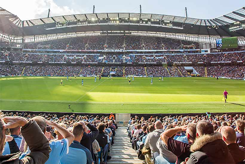 Football - Manchester City 2020 - The Commonwealth Bar