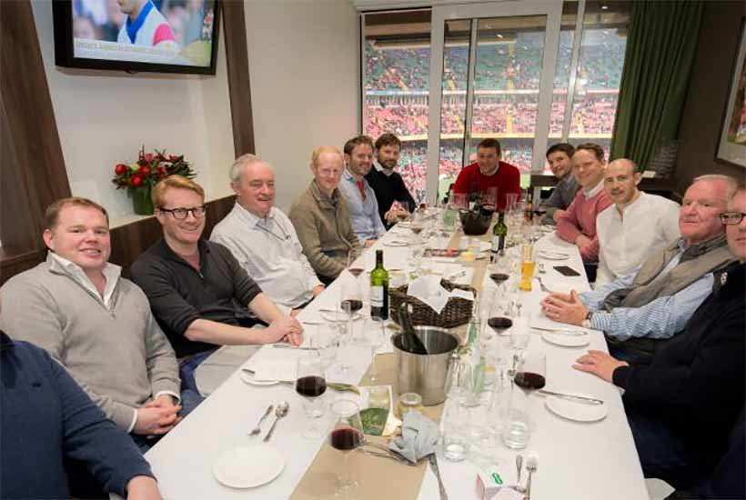 Rugby - Autumn Internationals 2020 - Principality Stadium - Private Suite