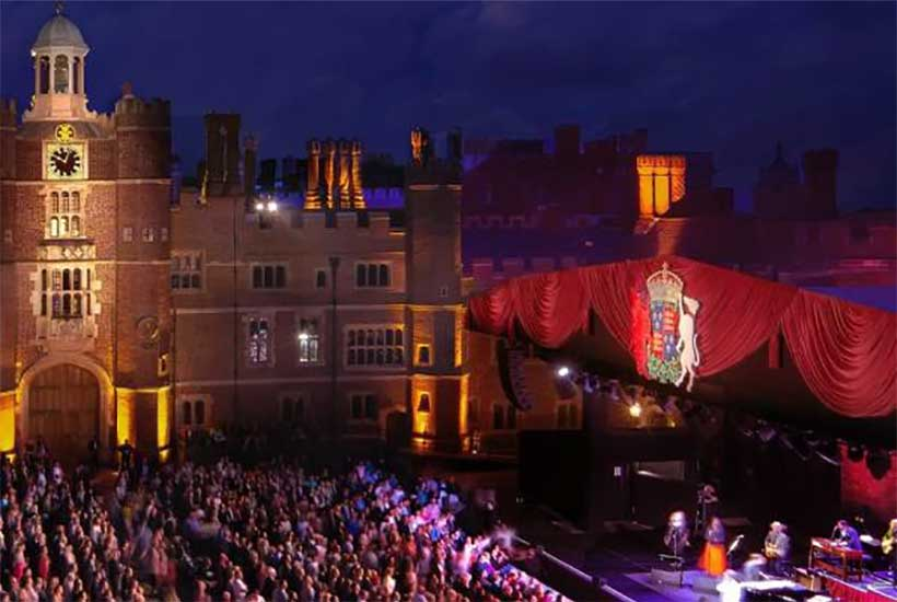 HAMPTON COURT PALACE MUSIC FESTIVAL 2021