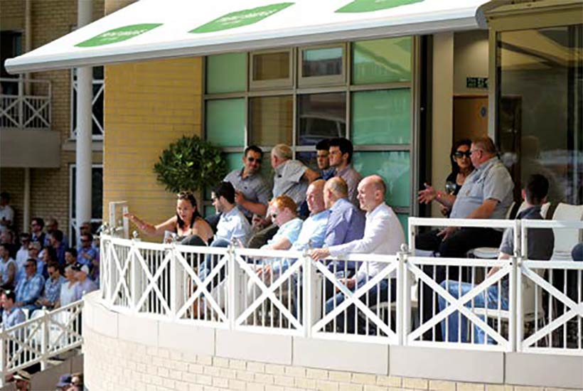 CSM - Cricket - Trent Bridge - England v India - Test Match - The Scoreboard Suite