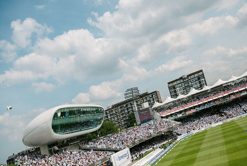 Cricket - Lords - ODI 2021 - England v Pakistan - Grand Stand Suite